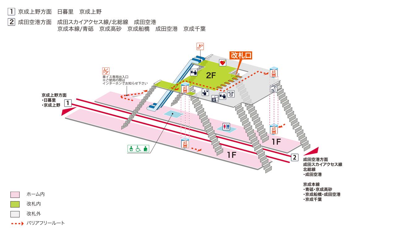 駅 構内 図 小山